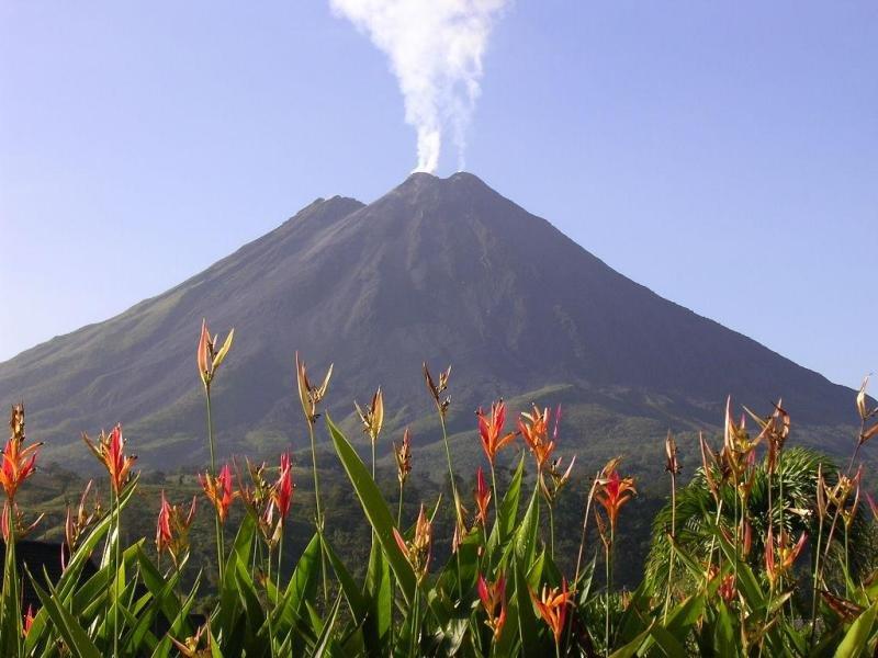 Фото вулкан Ареналь. Коста-Рика, Alajuela, Sendero Coladas