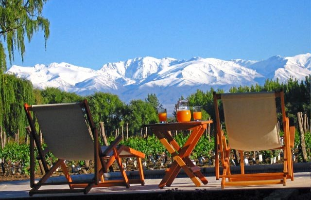 Фото Виноградники Мендосы. Аргентина, Mendoza, Ruta Provincial 82