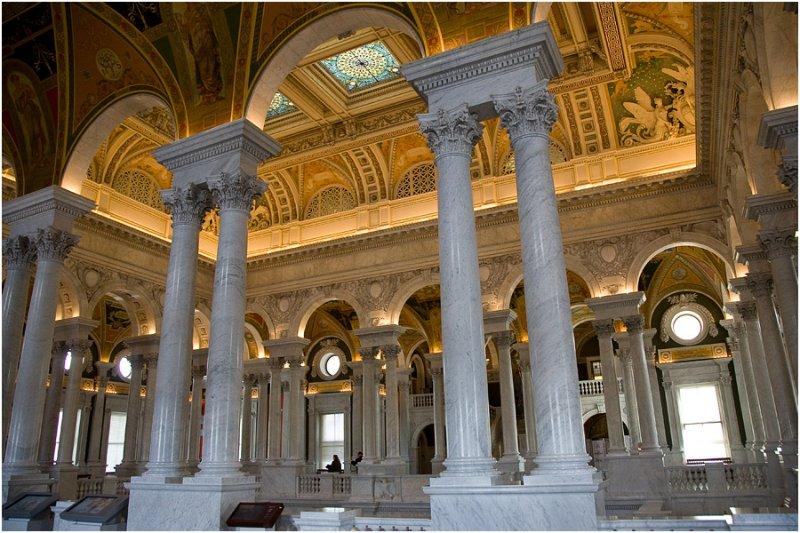 Фото Библиотека Конгресса. Соединенные Штаты Америки, District of Columbia, Washington, First Street Southeast, 100