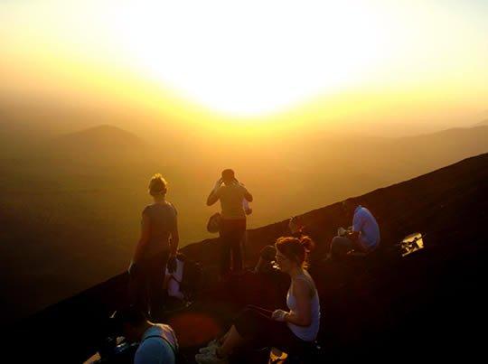 Фото Серро-Негро. Никарагуа, Leon, Sendero de descenso