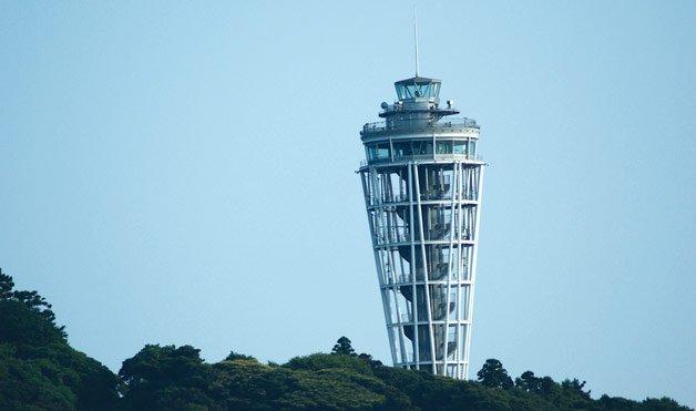 Фото Маяк на острове Эношима. Япония, Kanagawa-ken, Fujisawa-shi