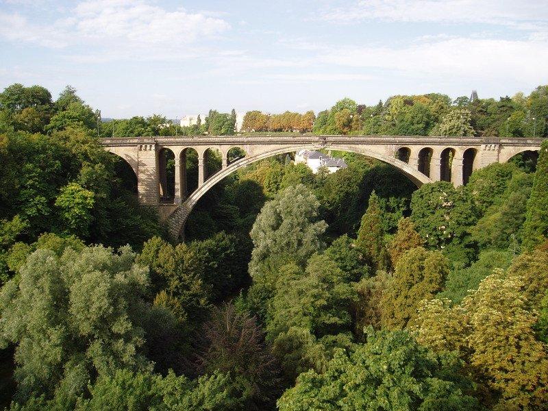 Фото Мост Адольфа. Люксембург, Luxembourg, Pont Adolphe