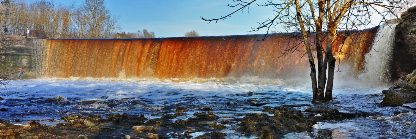 Фото Водопад Ягала. Эстония, Harju maakond, Jagala-Joa tee