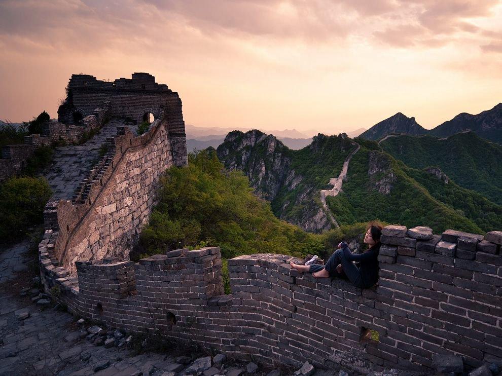Фото Великая Китайская Стена. Китай, Beijing Shi, Пекин, 216 Sheng Dao