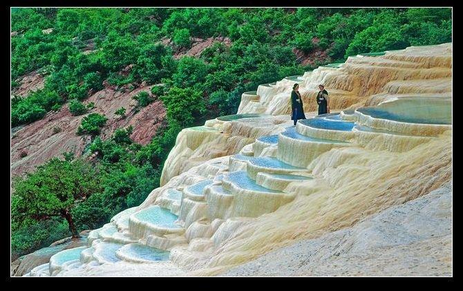 Фото Белые террасы . Китай, Юньнань, Дечен, Шангри-Ла, East Ring Road