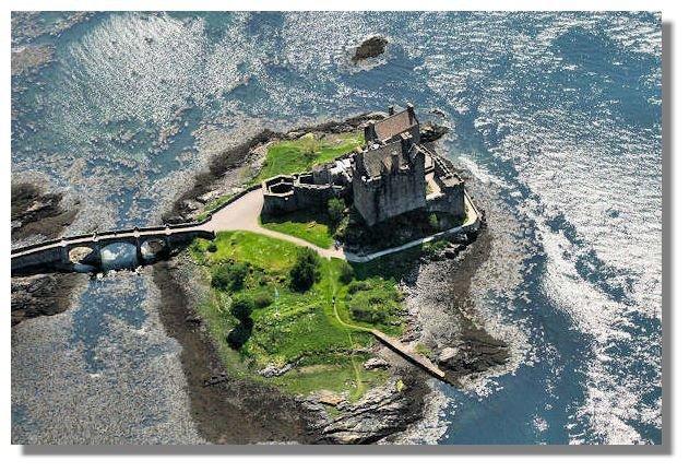 Фото Замок Эйлен-Донан. Великобритания, A87,