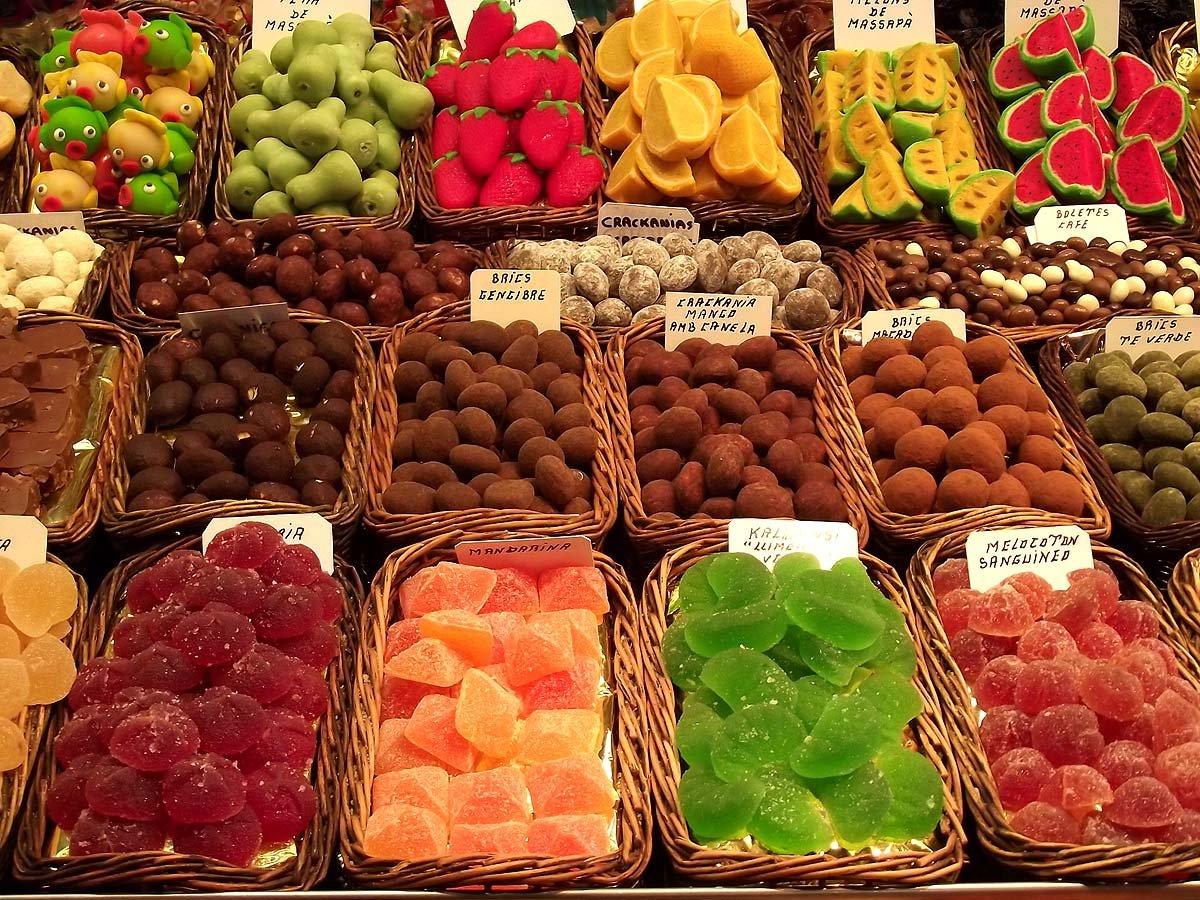 Фото Рынок Ла-Бокерия. Испания, Catalunya, Barcelona, Placa Sant Josep, 15