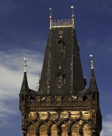 Фото Пороховая башня (Прага). Чехия, Прага, U Prasne brany, 1