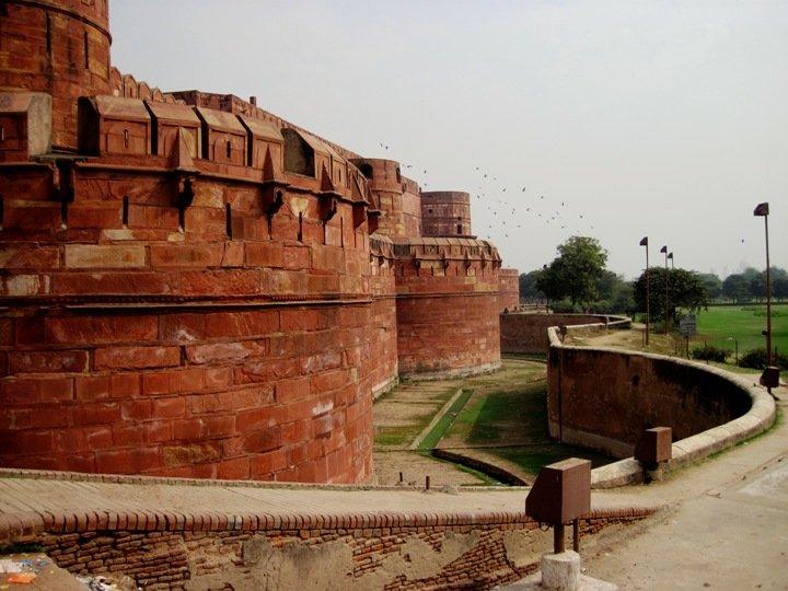 Фото Красный форт (Агра). Индия, Uttar Pradesh, Agra, State Highway 62