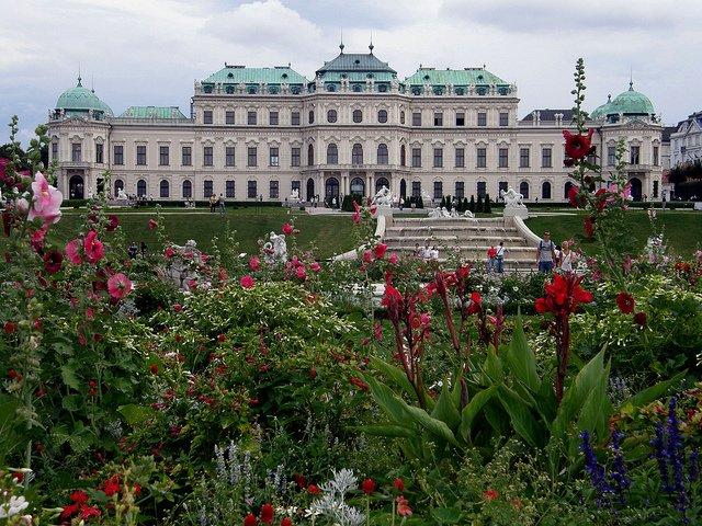 Фото Дворцово-парковый ансамбль Бельведер. Австрия, Wien, Prinz Eugen-Strase, 25