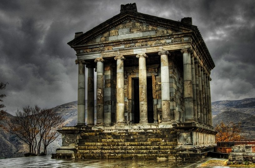 Фото Храм Гарни. Армения, Kotayk, Garni, Marzpetuni Street