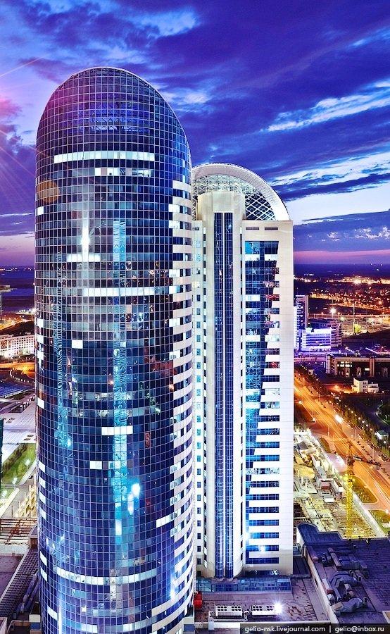 Фото Управление железной дороги Республики Казахстан. Казахстан, Акмолинская область, Астана, бульвар Нуржол