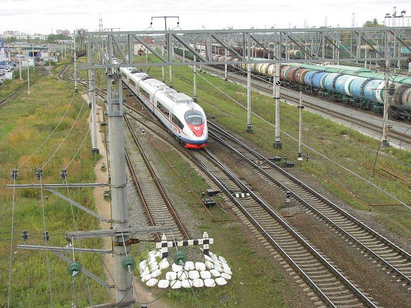 Фото электропоезд САПСАН. Россия, Владимирская область, Вязники, М7