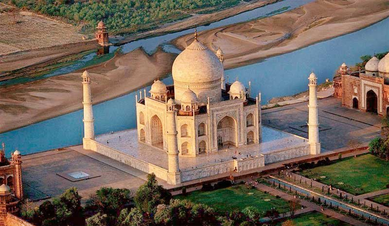 Фото Тадж-Махал. Индия, Уттар-Прадеш, Агра, Теджгиндж, Taj East Gate Road