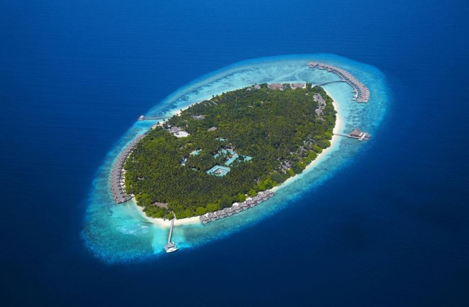 Фото Курорт Dusit Thani на Мальдивах. Мальдивы, Север Провинс, Мадду-Айленд-роуд