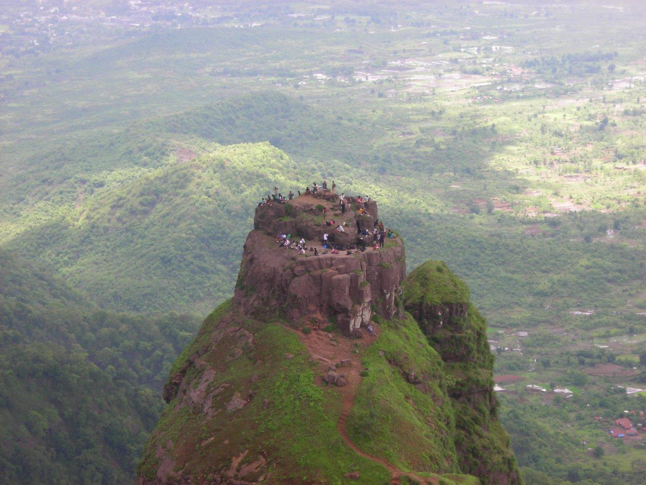 Фото Форт Прабалгад. Индия, Maharashtra, Thakurvadi Road
