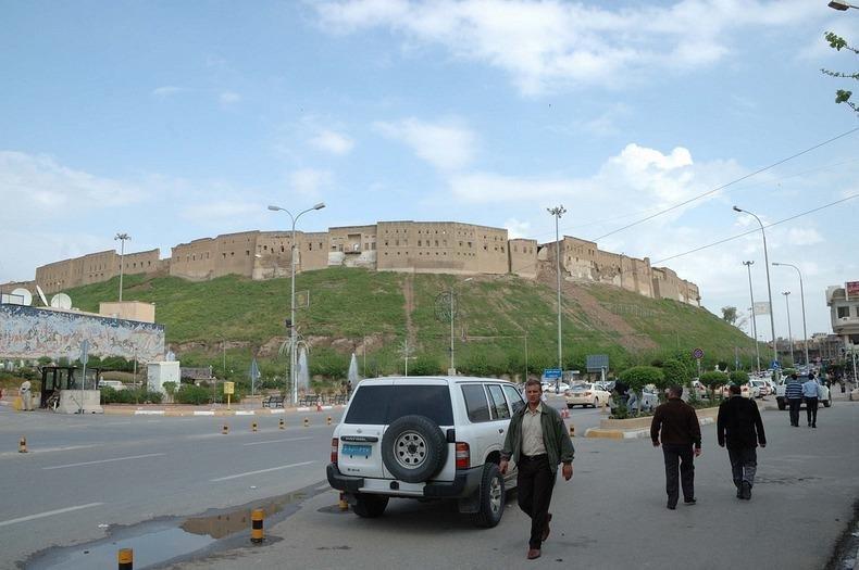 Фото Цитадель Эрбиль. Ирак, Erbil, Qalat Street