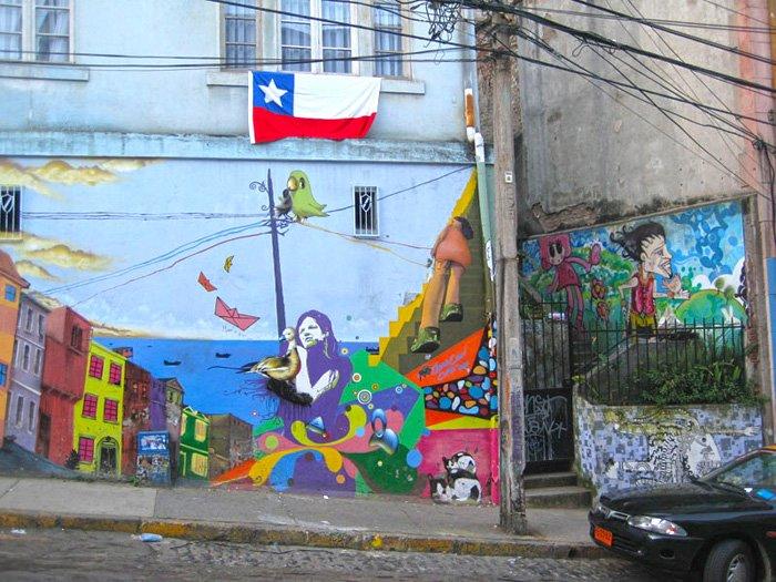 Фото Вальпараисо. Чили, Valparaiso, Вальпараисо, Errazuriz