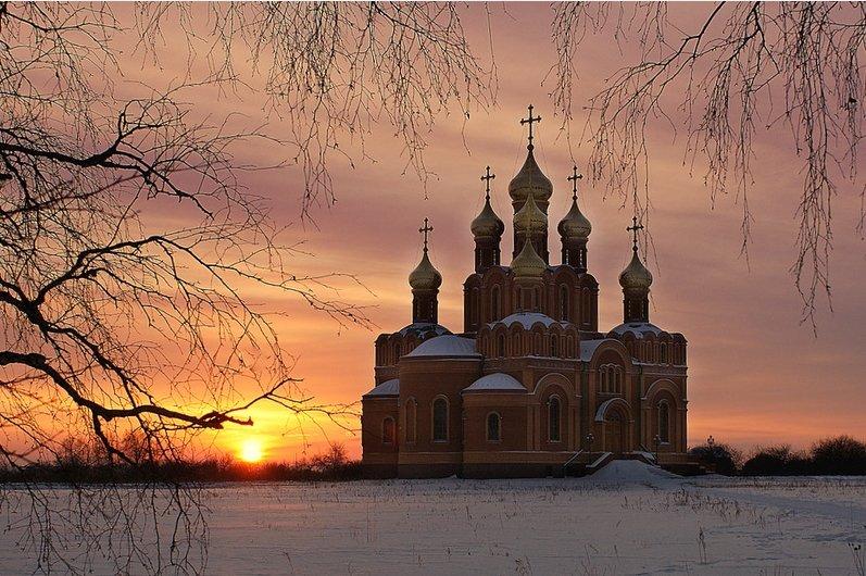 Фото Ачаирский Крестовый монастырь. Россия, Омская область, М38