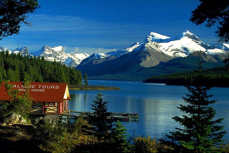 Фото Озеро Малайн. Канада, Alberta, Bald Hills Trail, 107