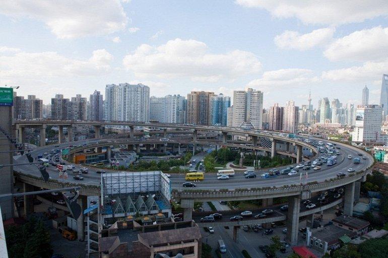 Фото Мост Нанпу. Китай, Shanghai Shi, Шанхай, Nei Huan Gao Jia Lu