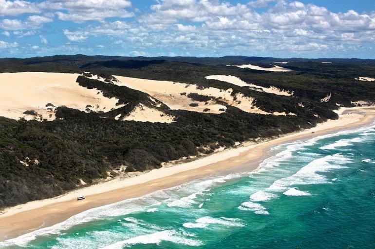 Фото Остров Фрейзер. Австралия, Квинсленд, Фрейзер Айленд, Woralie Road