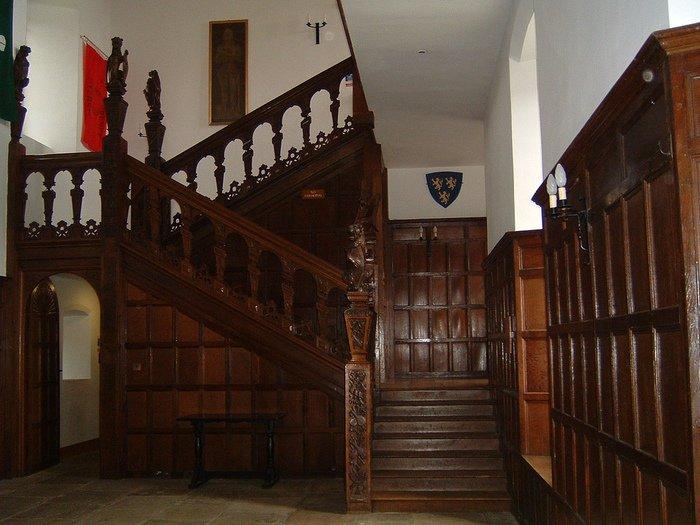 Фото Замок Хёрстмонсо. Великобритания, Херстмонсо, Эйри-роуд