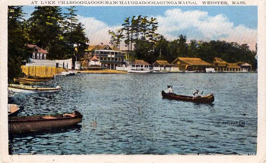 Фото о. Чаубунагунгамауг. Соединенные Штаты Америки, Massachusetts, Webster, South Shore Road, 125