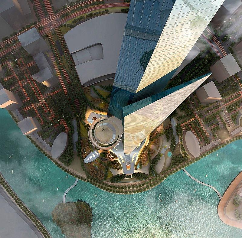 Фото Небоскреб Королевская башня. Саудовская Аравия, Мекка, Джедда, Obhur Al Shamaliah, Obhur Branch