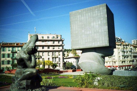 Фото Голова в квадрате. Франция, Ницца, Проспект Сен-Жан-Батист, 4-8