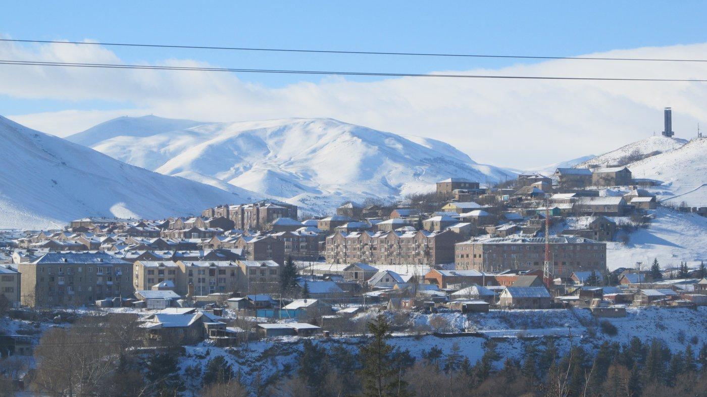 Фото IMG_0345.JPG. Армения, Лори, Спитак, Myasnikyan Street