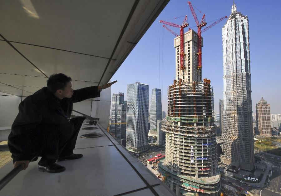 Фото Шанхайская башня. Китай, Шанхай, Пудун, Lujiazui Ring Road
