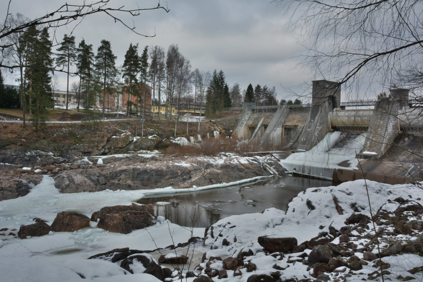 Фото Водопад. Финляндия, Imatrankoskentie,