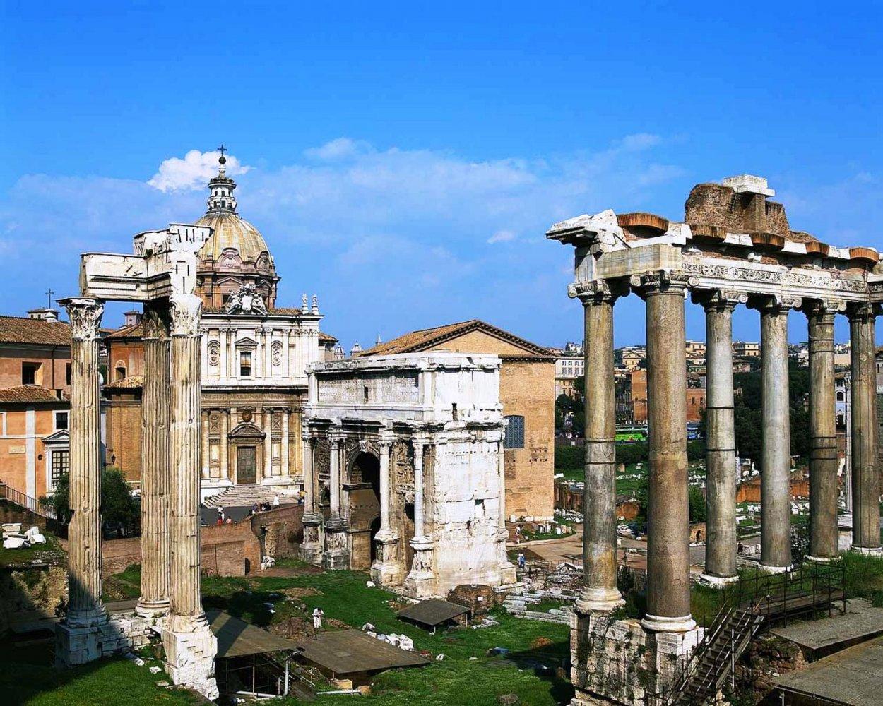 Фото Рим. Италия, Lazio, Roma, Via in Selci, 87-90