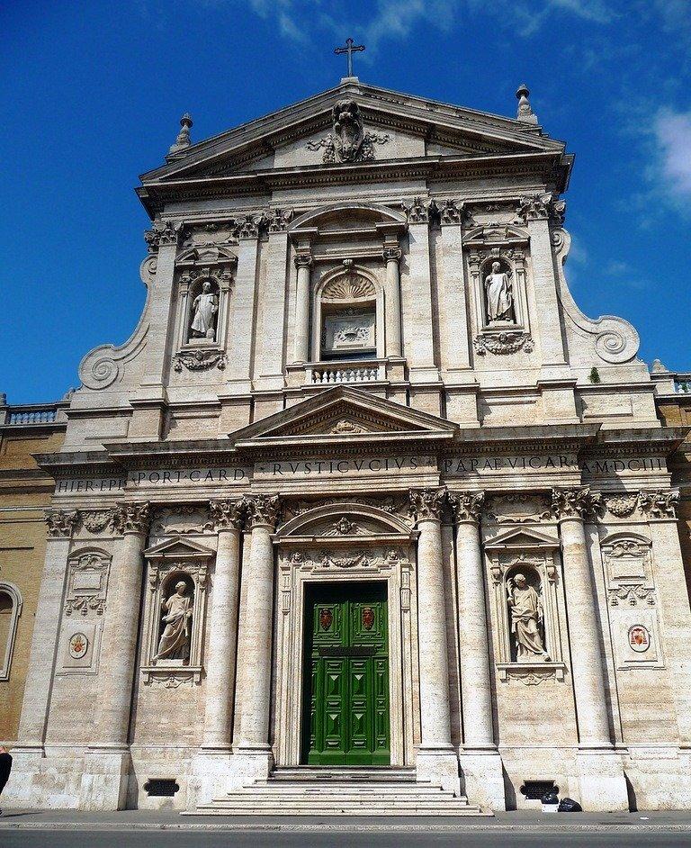 Фото Церковь Св. Сусанны. Италия, Lazio, Roma, Via in Selci, 87-90