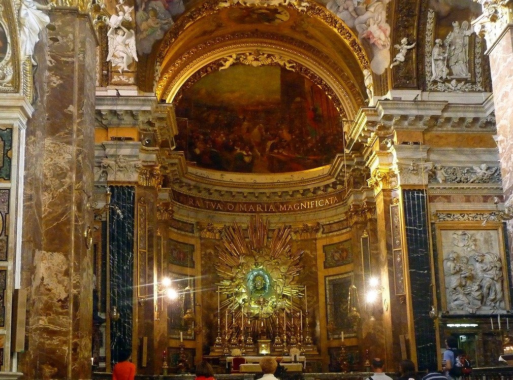 Фото Церковь Santa Maria della Vittoria. Италия, Lazio, Roma, Via in Selci, 87-90