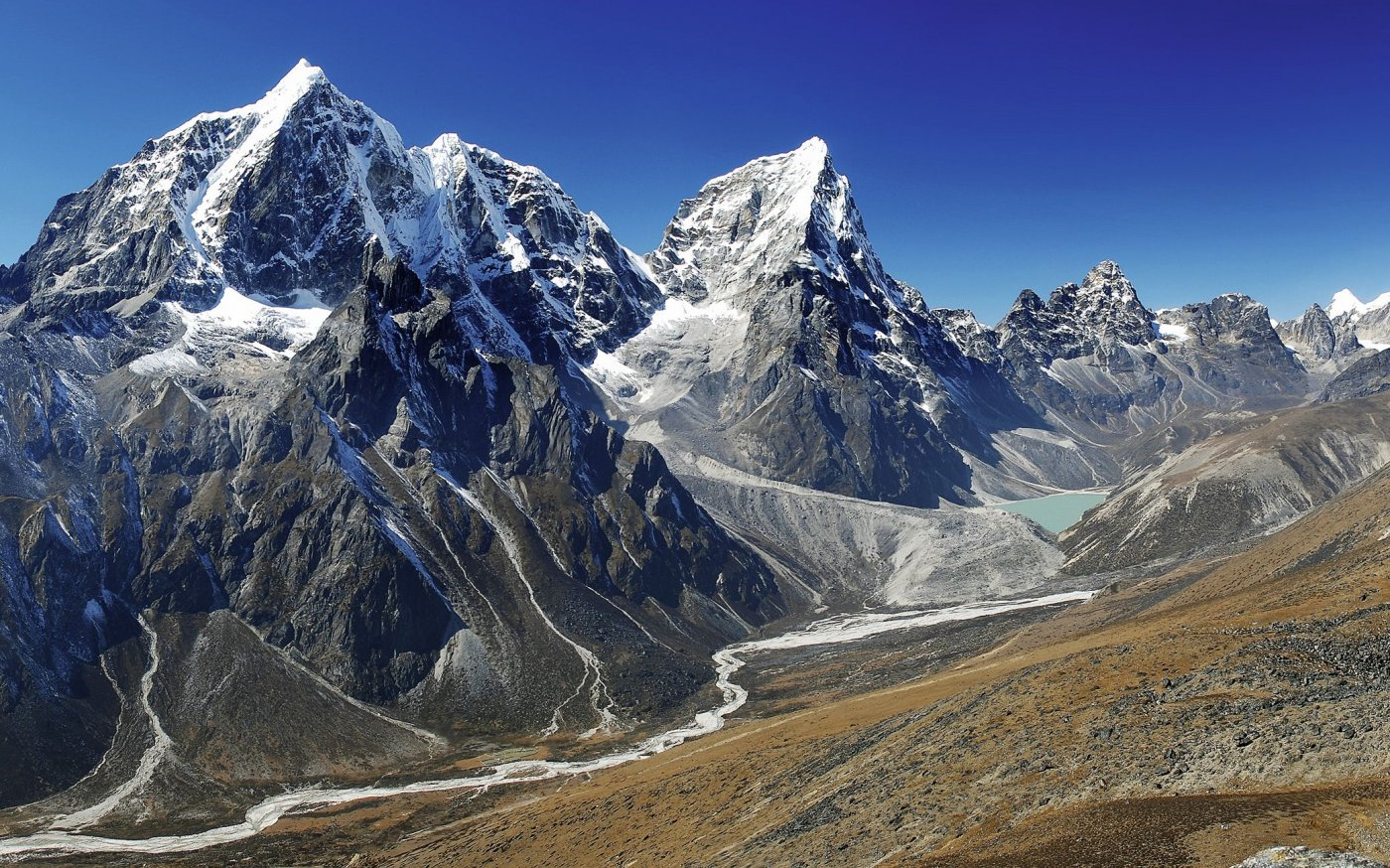 Фото Национальный парк Сагарматха. Непал, Eastern Region, Khumjung, Kala Pattar Ascent Trail