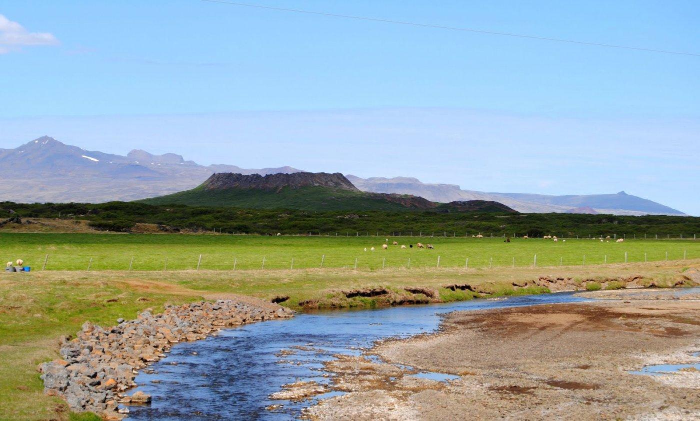 Фото Кратер Элдборг. Исландия, Вестюрланд, Snaefellsnesvegur