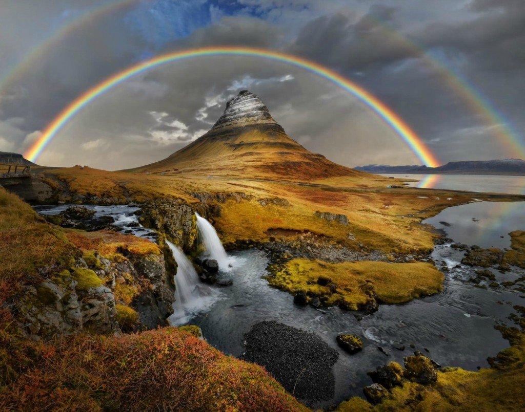 Фото Гора Киркьюфелл. Исландия, Kviabryggja,