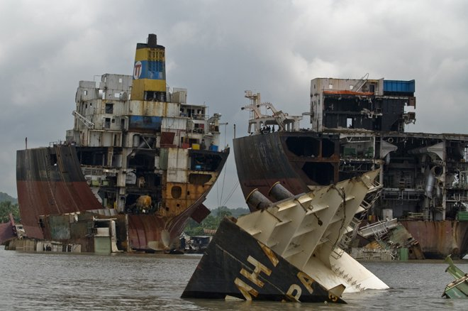 Фото Кладбище кораблей Читтагонг. Бангладеш, Читагонг, Sonaichhari, Dhaka - Chittagong Highway