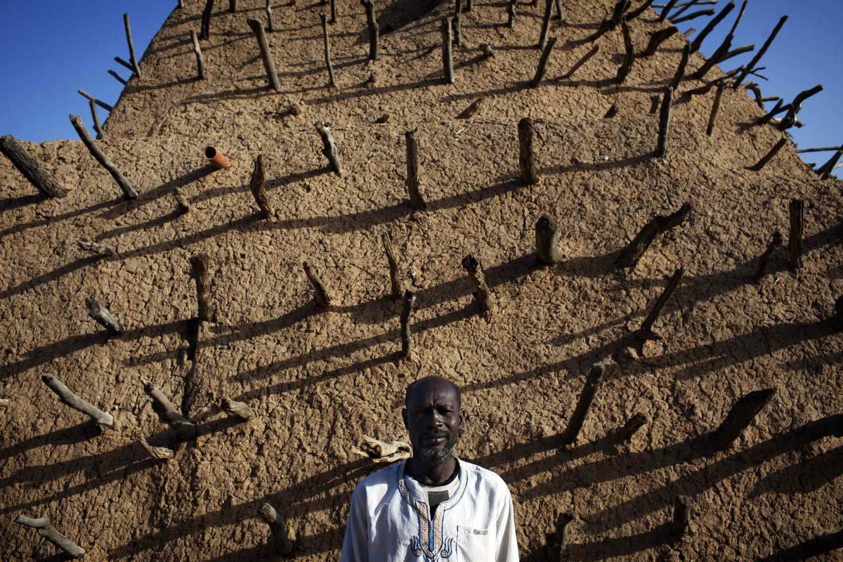 Фото Могила Аскиа. Мали, Гао, Avenue des Askia