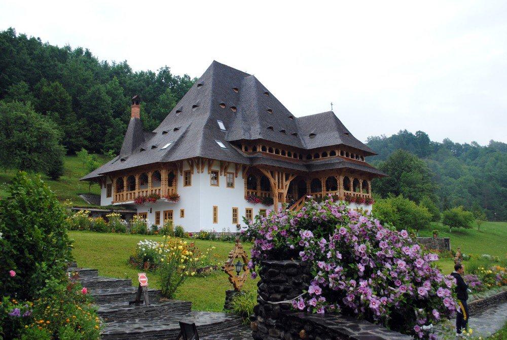 Фото Монастырь Бырсана. Румыния, Judetul Maramures, Barsana, DJ186