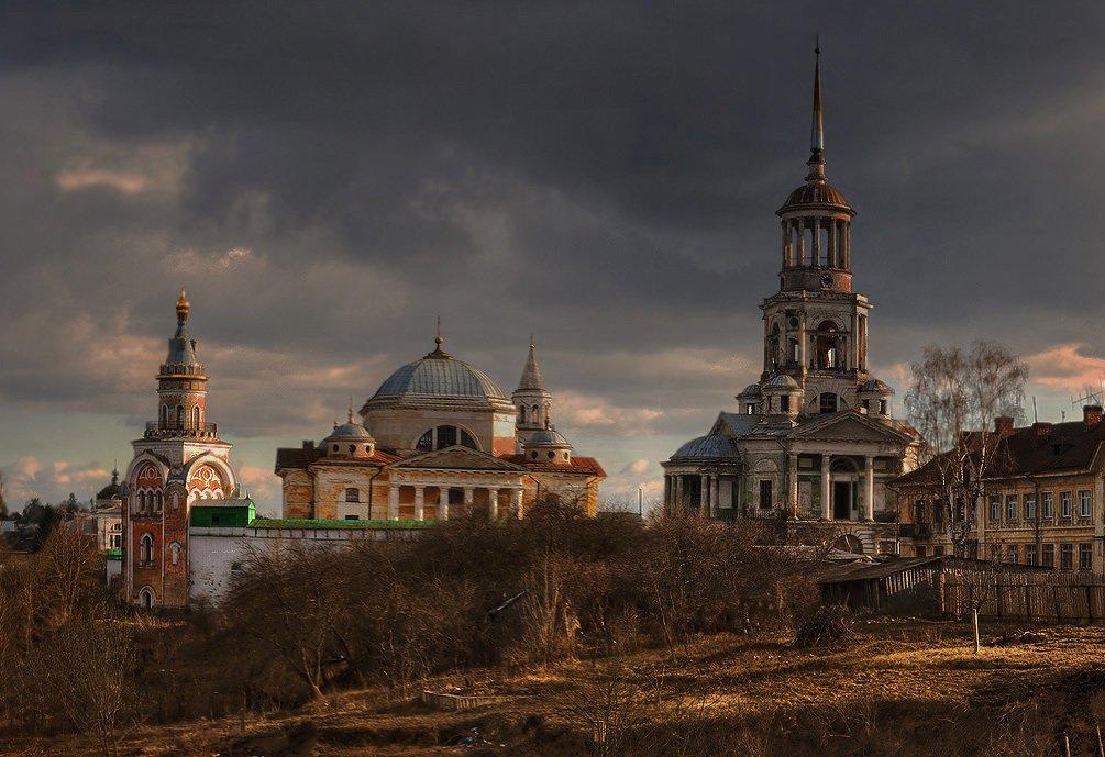 Фото Бортсоглебский-монастырь.jpg. Россия, Тверская область, Торжок, Старицкая улица, 9