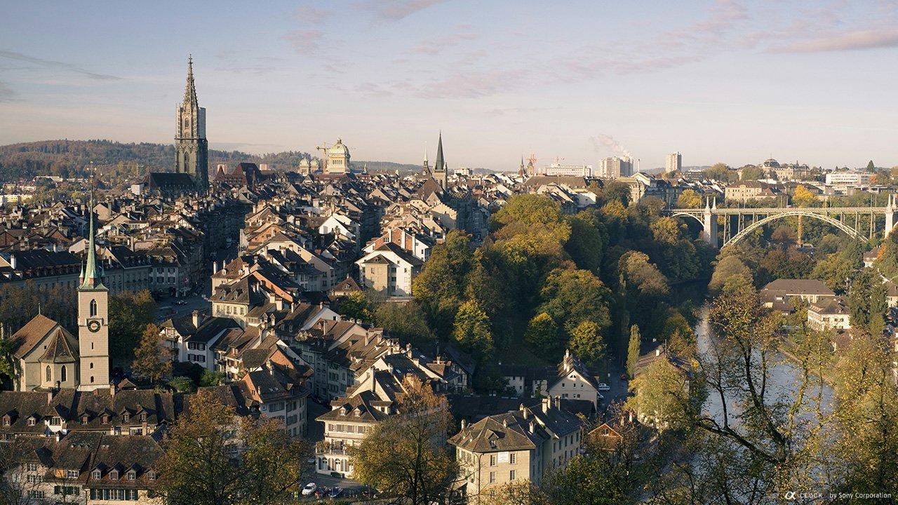 Фото Старый город в Берне. Швейцария, Берн, Бруннгассхальде, 65