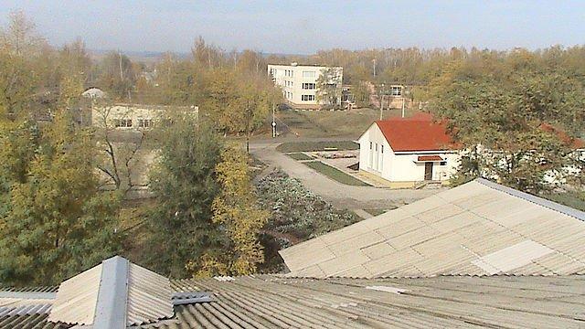 Фото Вид с крыши ДК .. Россия, Белгородская область, Р187