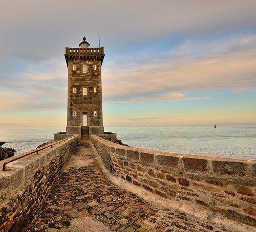Фото Маяк Керморван. Франция, Bretagne, Le Conquet, Corniche Sainte-Barbe, 771A