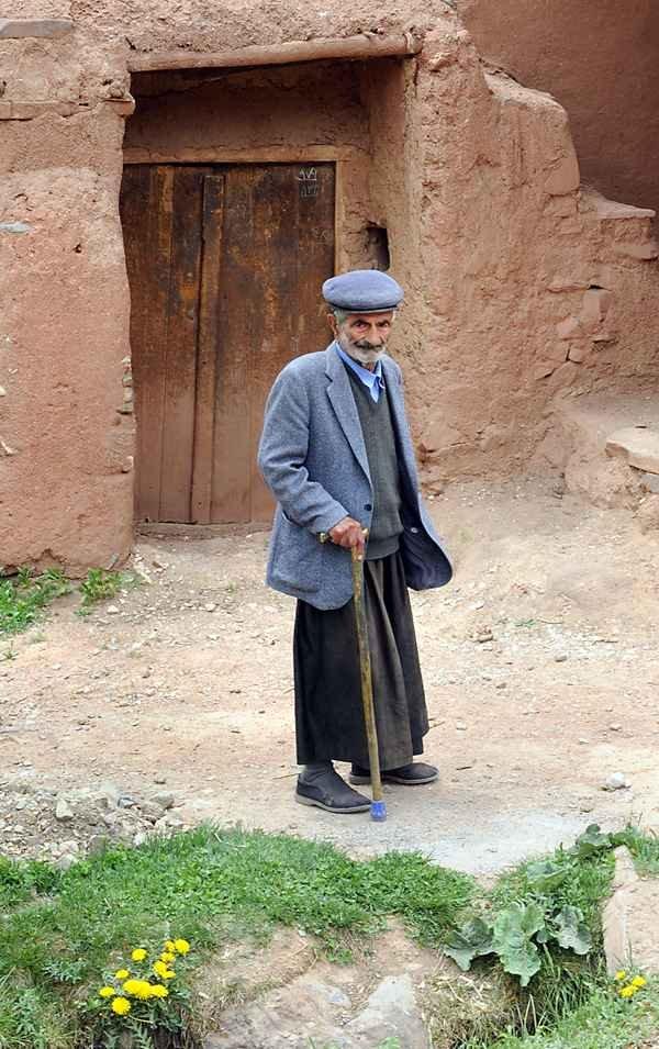 Фото Историческая деревня Абьяне. Иран, Isfahan, Abyaneh