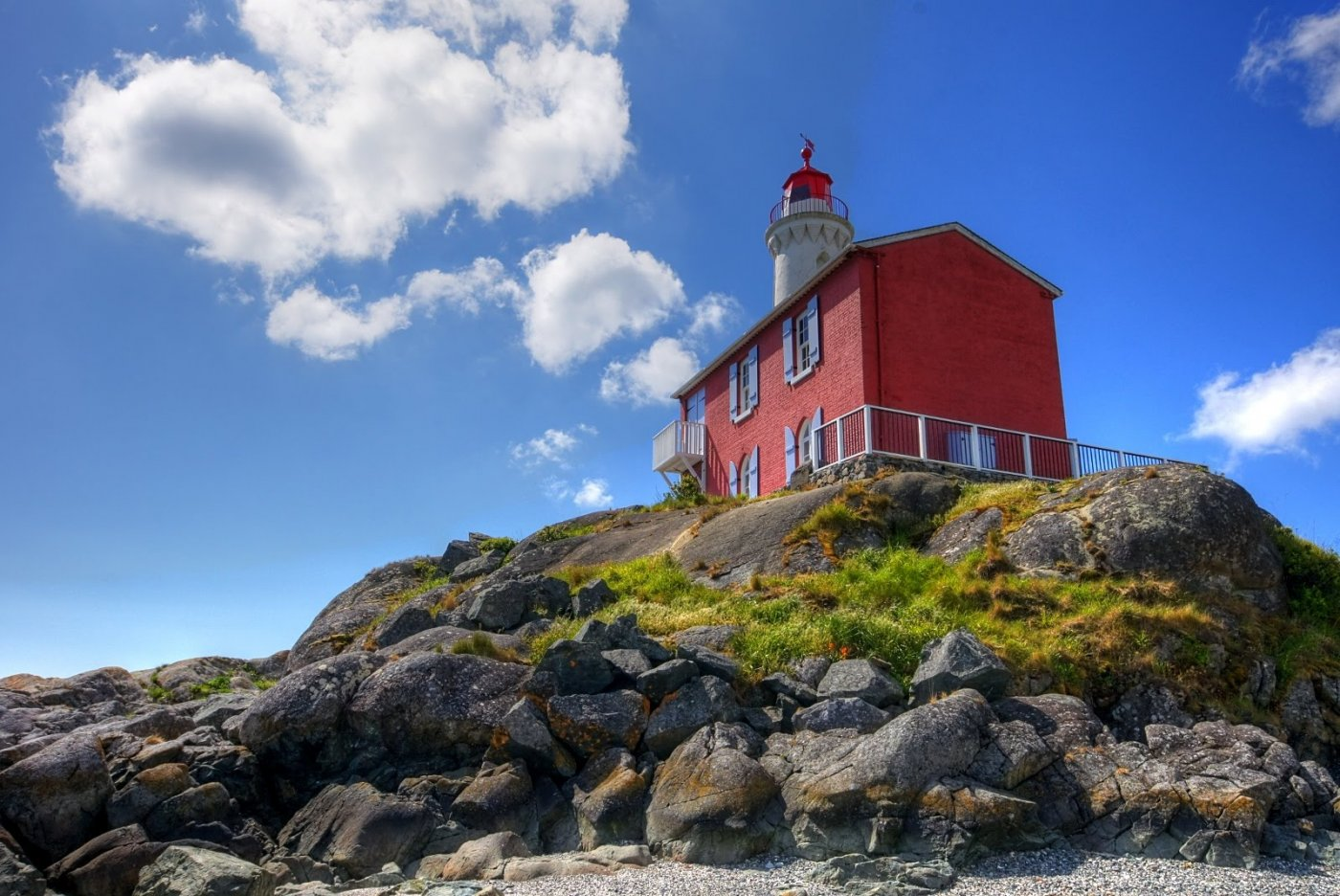 Фото Маяк Фисгард. Канада, British Columbia, Victoria, Unnamed Road