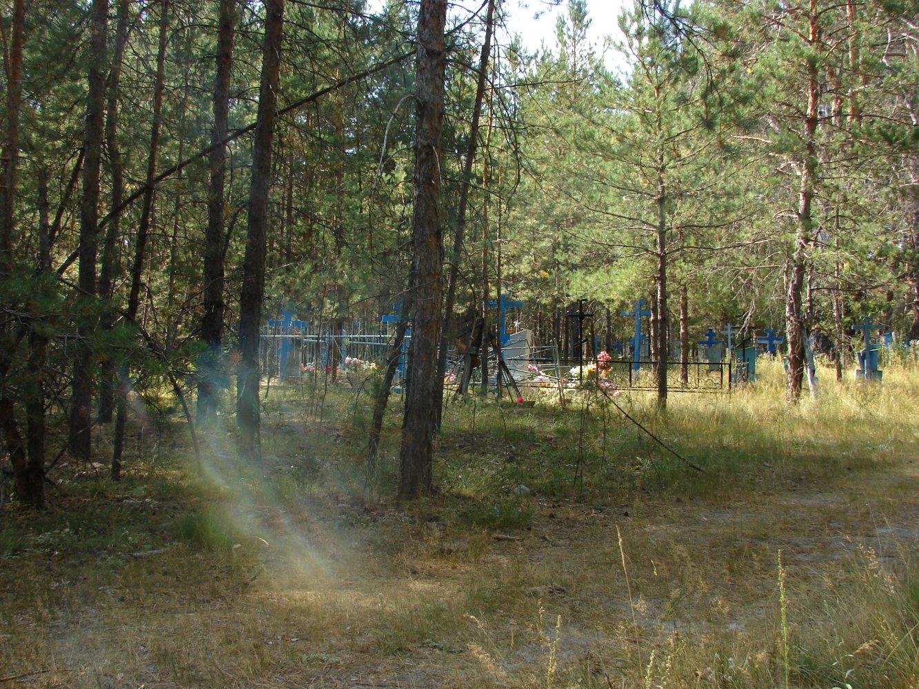 Фото Сельское кладбище у подножия Лысой горы. Россия, Ульяновская область, Unnamed Road