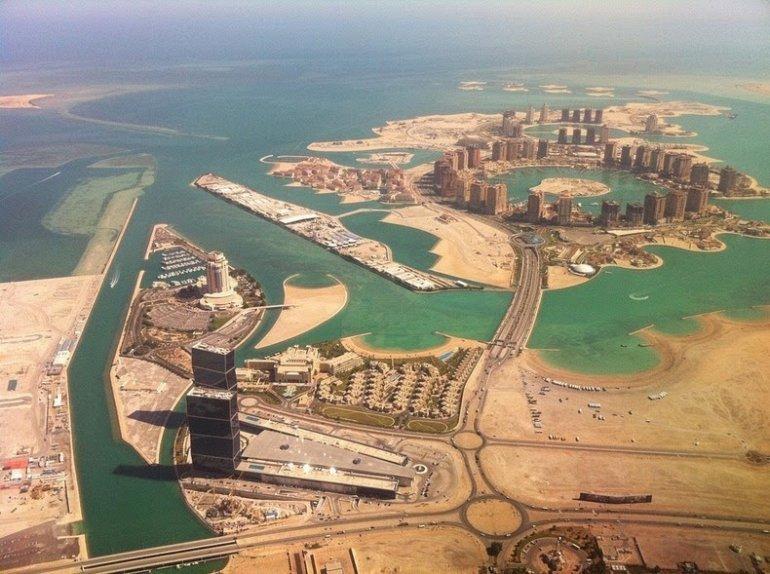 Фото Перл-Катар. Катар, Doha, Porto Arabia Drive
